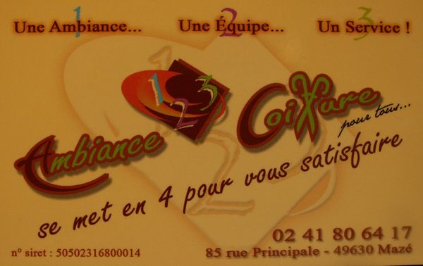 Ambiance 123 Coiffure