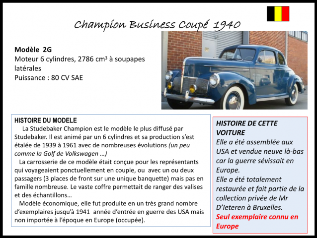 Champion Business Coupé