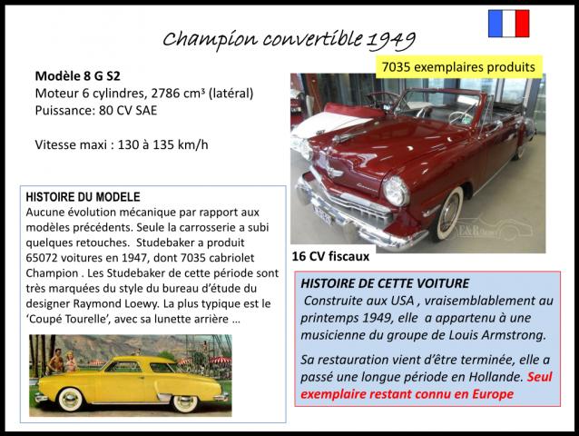 Champion convertible 1949